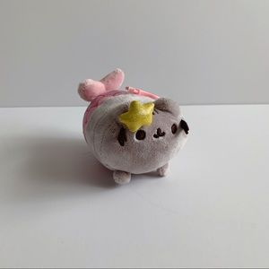 Mermaid Pusheen Cat Keychain